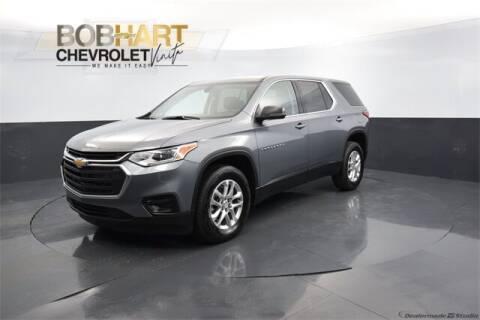 2021 Chevrolet Traverse for sale at BOB HART CHEVROLET in Vinita OK
