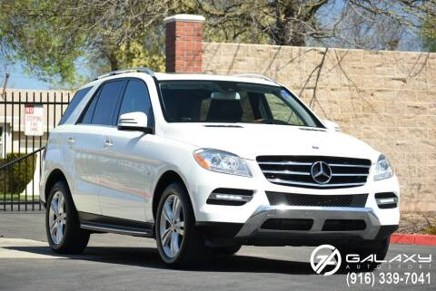 2012 Mercedes-Benz M-Class for sale at Galaxy Autosport in Sacramento CA