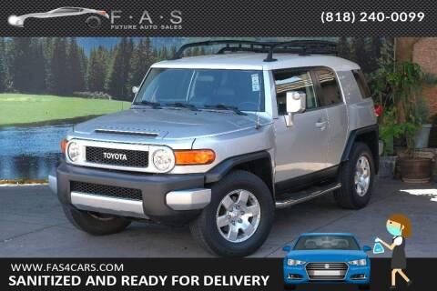 2007 Toyota FJ Cruiser for sale at Best Car Buy in Glendale CA