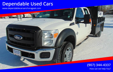 2011 Ford F-550 Super Duty for sale at Dependable Used Cars in Anchorage AK