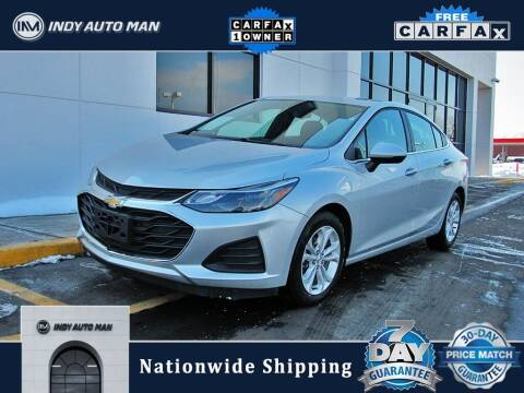 2019 Chevrolet Cruze for sale at INDY AUTO MAN in Indianapolis IN