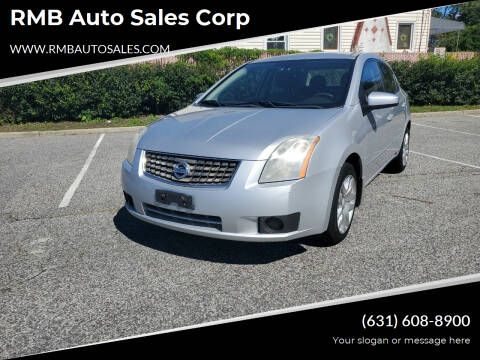 2007 Nissan Sentra for sale at RMB Auto Sales Corp in Copiague NY