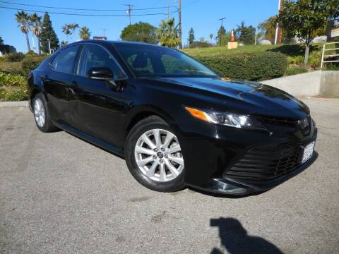2018 Toyota Camry for sale at ARAX AUTO SALES in Tujunga CA