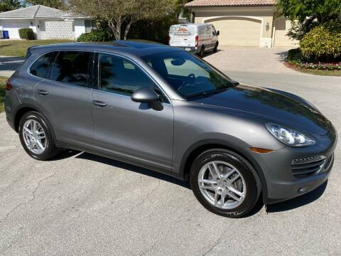 2012 Porsche Cayenne for sale at Exceed Auto Brokers in Pompano Beach FL