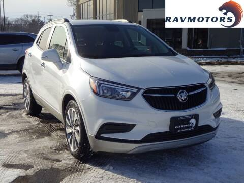 2017 Buick Encore for sale at RAVMOTORS 2 in Crystal MN
