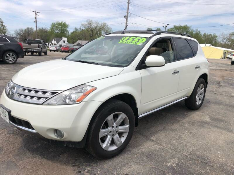 2007 Nissan Murano for sale at Rocket Cars Auto Sales LLC in Des Moines IA