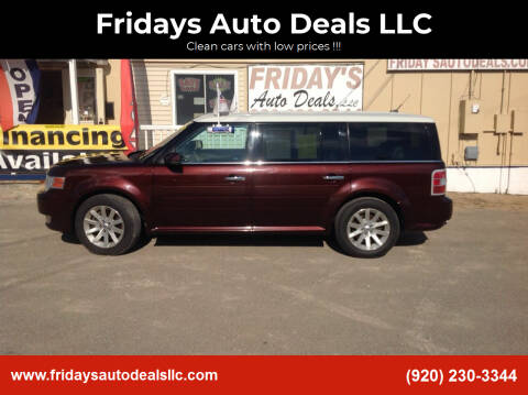2010 Ford Flex for sale at Fridays Auto Deals LLC in Oshkosh WI