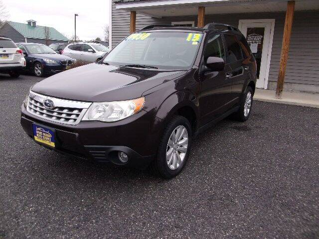 2013 Subaru Forester for sale at Lakes Region Auto Source LLC in New Durham NH