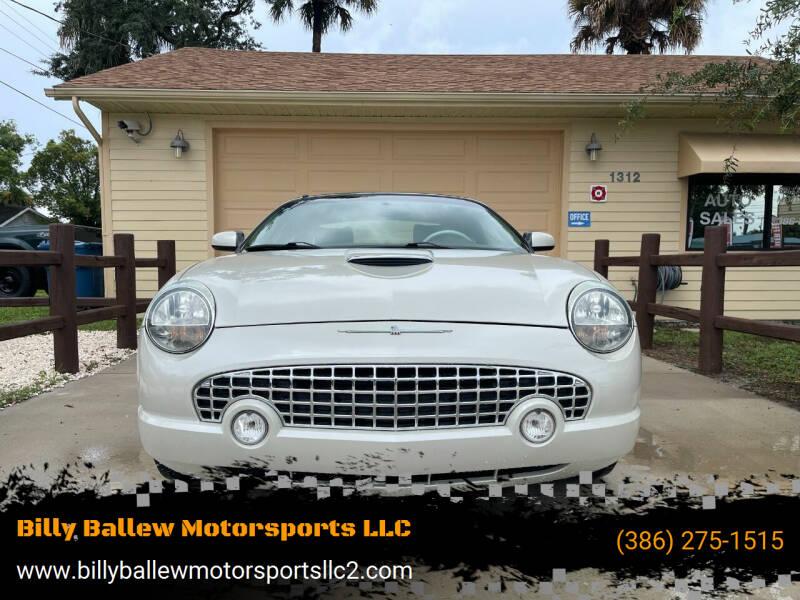 2005 Ford Thunderbird for sale at Billy Ballew Motorsports LLC in Daytona Beach FL