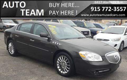 2008 Buick Lucerne for sale at AUTO TEAM in El Paso TX