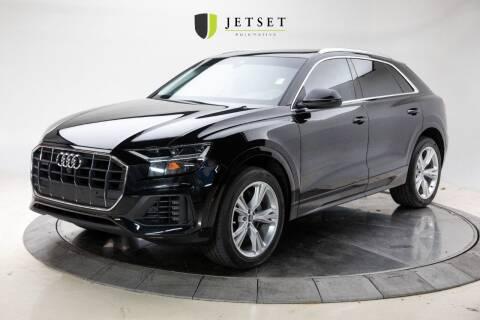 2019 Audi Q8 for sale at Jetset Automotive in Cedar Rapids IA
