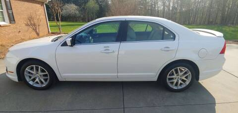 2012 Ford Fusion for sale at R & D Auto Sales Inc. in Lexington NC