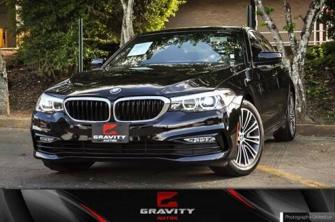 2018 BMW 5 Series for sale at Gravity Autos Atlanta in Atlanta GA