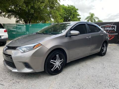 2015 Toyota Corolla for sale at Florida Automobile Outlet in Miami FL