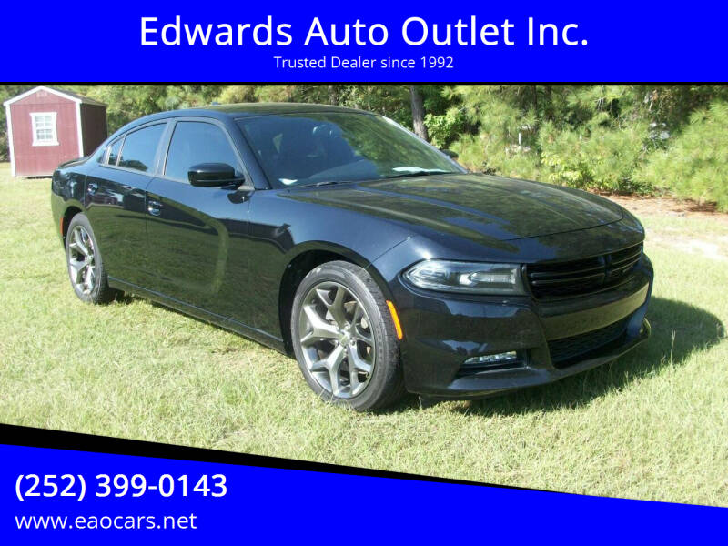 2016 Dodge Charger for sale at Edwards Auto Outlet Inc. in Wilson NC