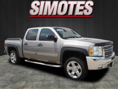 2012 Chevrolet Silverado 1500 for sale at SIMOTES MOTORS in Minooka IL