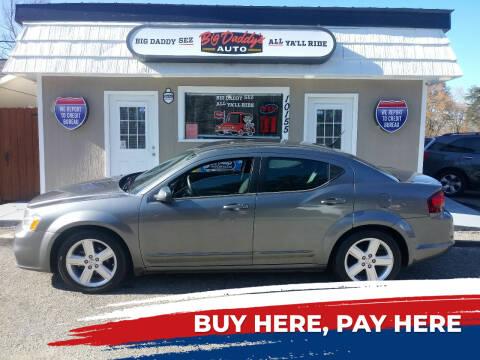2013 Dodge Avenger for sale at BIG DADDY'S  A.L.D. in Winston Salem NC