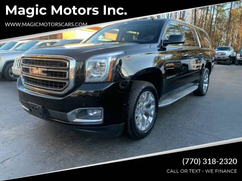 2015 GMC Yukon XL for sale at Magic Motors Inc. in Snellville GA