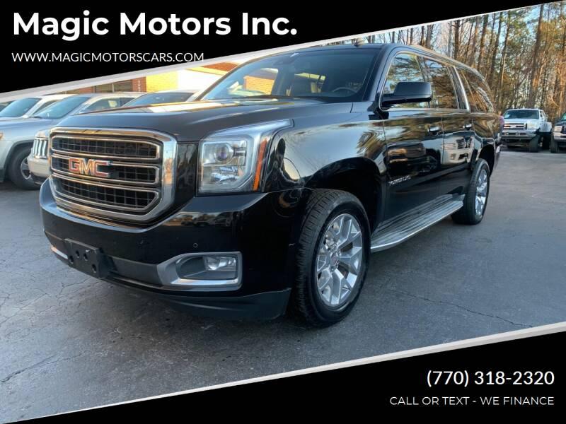 2015 GMC Yukon XL for sale at Magic Motors Inc. in Snellville GA