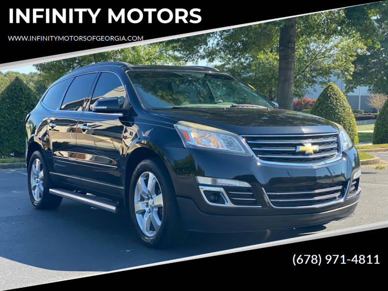 2016 Chevrolet Traverse for sale at INFINITY MOTORS in Gainesville GA