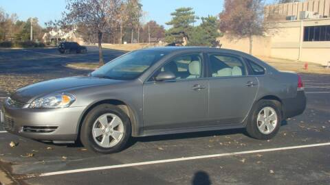 2009 Chevrolet Impala for sale at Red Rock Auto LLC in Oklahoma City OK