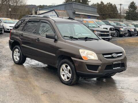 2009 Kia Sportage for sale at Saratoga Motors in Gansevoort NY