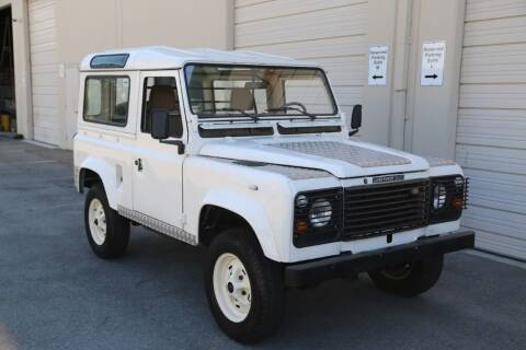 1990 Land Rover Defender for sale at Gullwing Motor Cars Inc in Astoria NY