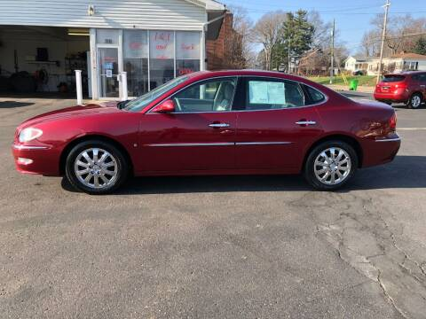 2008 Buick LaCrosse for sale at J&J Car and Truck Sales in North Canton OH