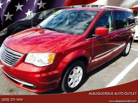 2012 Chrysler Town and Country for sale at ALBUQUERQUE AUTO OUTLET in Albuquerque NM