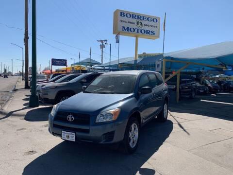 2010 Toyota RAV4 for sale at Borrego Motors in El Paso TX