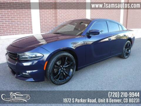 2016 Dodge Charger for sale at SAM'S AUTOMOTIVE in Denver CO