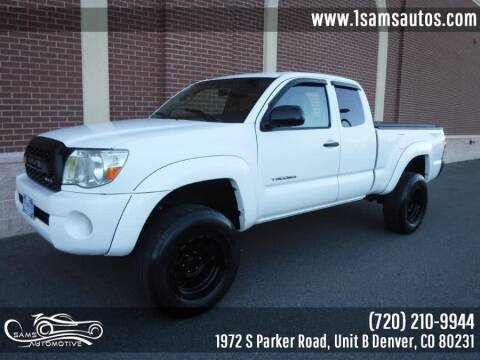 2005 Toyota Tacoma for sale at SAM'S AUTOMOTIVE in Denver CO