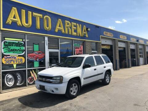 2003 Chevrolet TrailBlazer for sale at Auto Arena in Fairfield OH