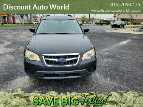 2009 Subaru Outback for sale at Discount Auto World in Morris IL