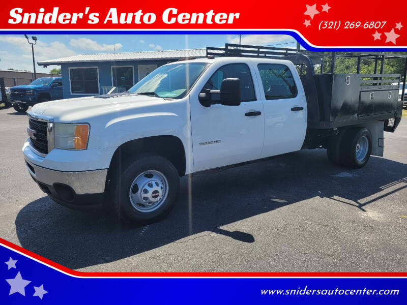 2014 GMC Sierra 3500 Pickup Cab-Ch 137 for sale at Snider's Auto Center in Titusville FL
