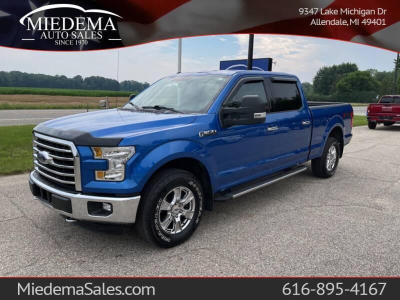 2016 Ford F-150 for sale at Miedema Auto Sales in Allendale MI