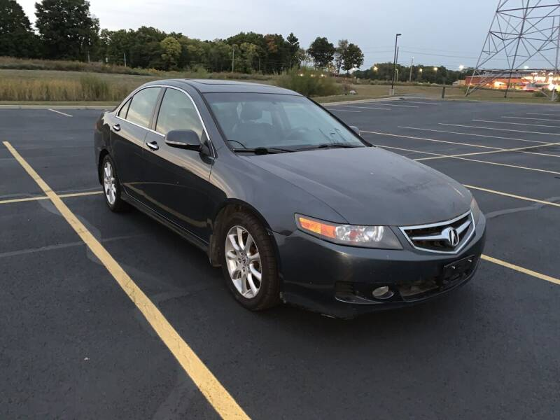 2007 Acura TSX for sale at Quality Motors Inc in Indianapolis IN