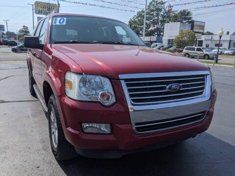2010 Ford Explorer for sale at GREAT DEALS ON WHEELS in Michigan City IN