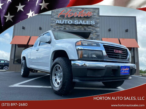 2011 GMC Canyon for sale at HORTON AUTO SALES, LLC in Linn MO