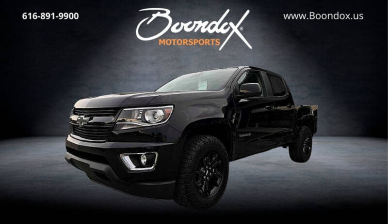 2017 Chevrolet Colorado for sale at Boondox Motorsports in Caledonia MI