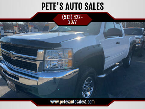 2009 Chevrolet Silverado 2500HD for sale at PETE'S AUTO SALES LLC - Middletown in Middletown OH