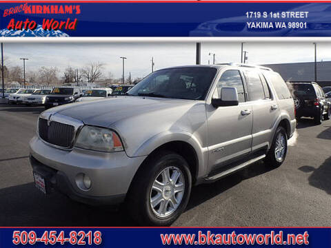 2004 Lincoln Aviator for sale at Bruce Kirkham Auto World in Yakima WA