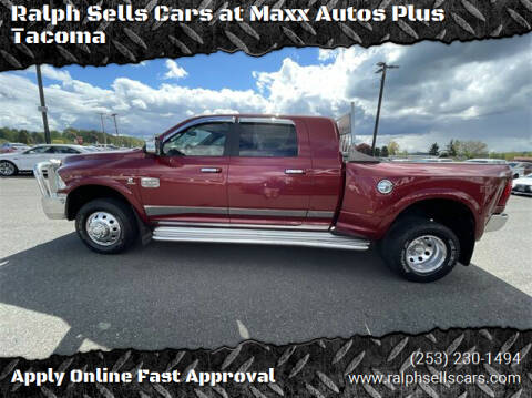 2012 RAM Ram Pickup 3500 for sale at Ralph Sells Cars at Maxx Autos Plus Tacoma in Tacoma WA