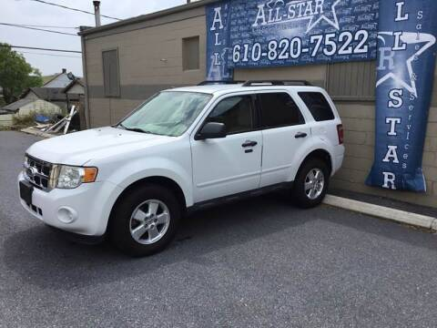 2012 Ford Escape for sale at All Star Auto Sales and Service LLC in Allentown PA