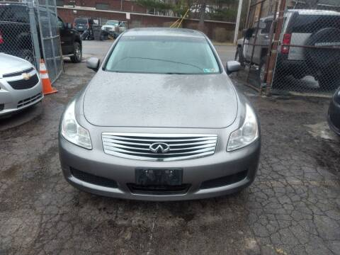 2007 Infiniti G35 for sale at Six Brothers Auto Sales in Youngstown OH