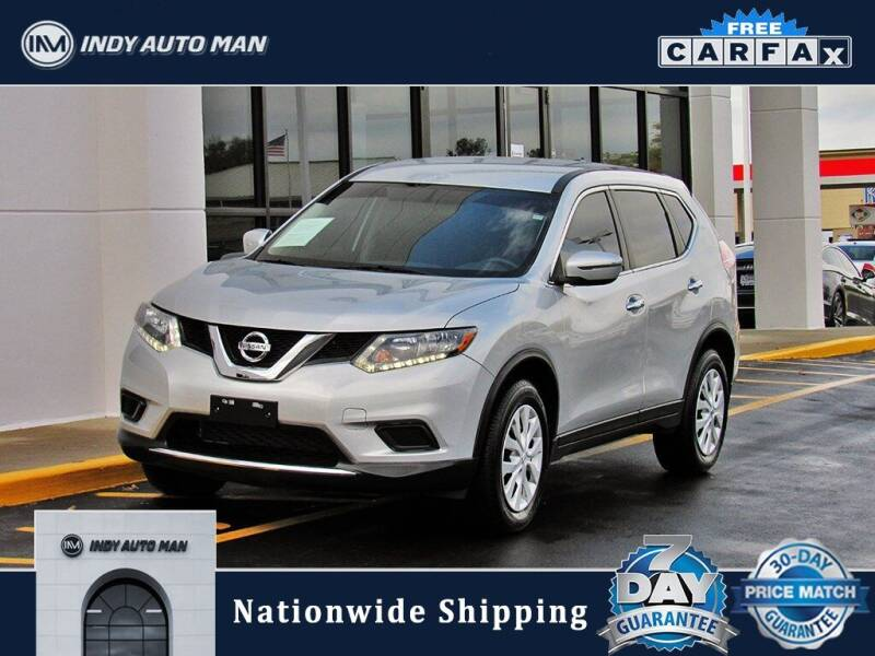2015 Nissan Rogue for sale at INDY AUTO MAN in Indianapolis IN
