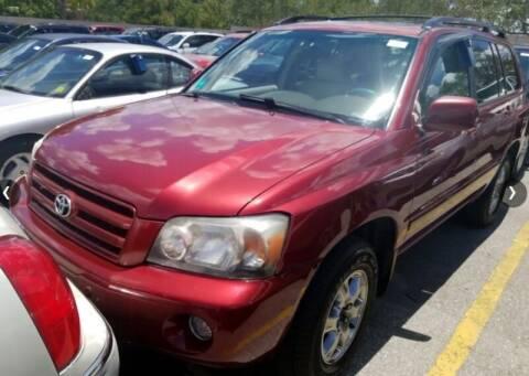 2005 Toyota Highlander for sale at JacksonvilleMotorMall.com in Jacksonville FL