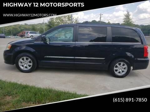 2011 Chrysler Town and Country for sale at HIGHWAY 12 MOTORSPORTS in Nashville TN