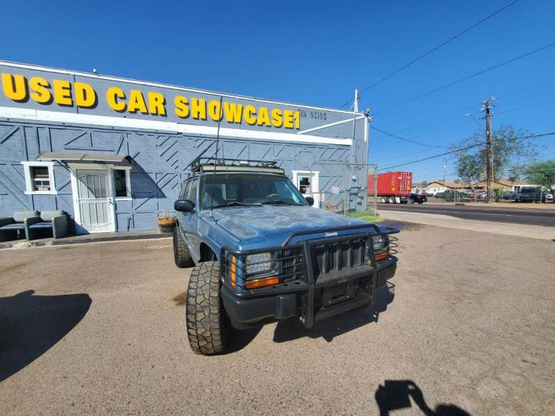 1997 Jeep Cherokee for sale at Used Car Showcase in Phoenix AZ
