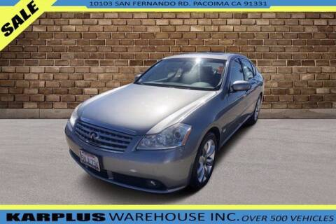 2006 Infiniti M35 for sale at Karplus Warehouse in Pacoima CA